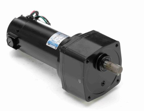 M1135244.00 Leeson |   Parallel Shaft 1/4 hp, 42 RPM 12VDC Electric Gear Motor