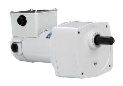 M1125268.00 Leeson |   Parallel Shaft Wash Down 1/8 hp, 14 RPM 90 Volts DC TENV Electric Gear Motor