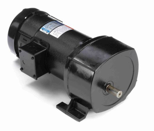 Leeson Parallel Shaft 1/2 hp, 33 RPM 90VDC Electric Gear Motor # 108708
