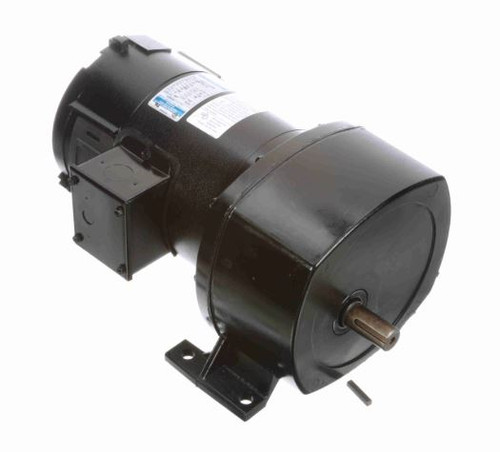 108729.00 Leeson |   Parallel Shaft 1/4 hp, 8 RPM 12VDC Electric Gear Motor