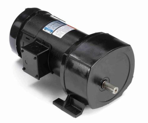 Leeson Parallel Shaft 1/2 hp, 42 RPM 12VDC TEFC Electric Gear Motor # 108731