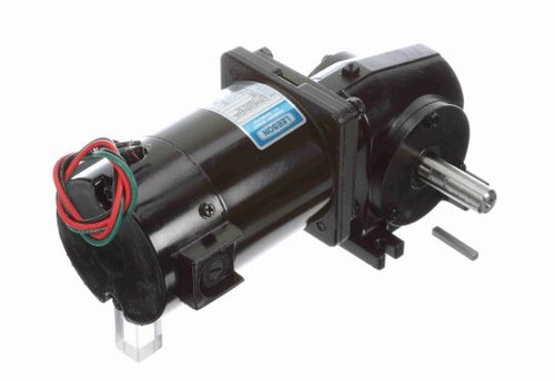 M1135054.00 Leeson |   Right Angle 1/12 hp, 62 RPM 180 Volts DC TENV Electric Gear Motor
