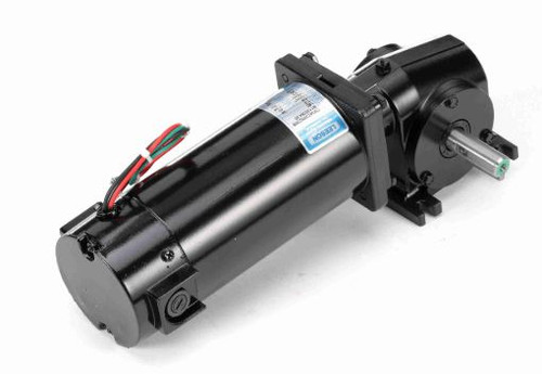 M1135064.00 Leeson |   Right Angle 1/4 hp, 125 RPM 180 Volts DC TENV Electric Gear Motor