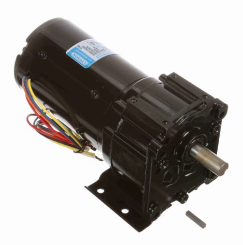 Leeson Parallel Shaft 1/15 hp, 45 RPM TENV 115/230V Electric Gear Motor # M1145025