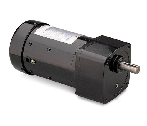 Leeson Parallel Shaft 1/8 hp, 59 RPM 115/230V Electric Gear Motor # 096007