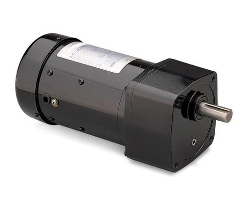 Leeson Parallel Shaft 1/3 hp, 85 RPM 230/460 Electric Gear Motor # 096014