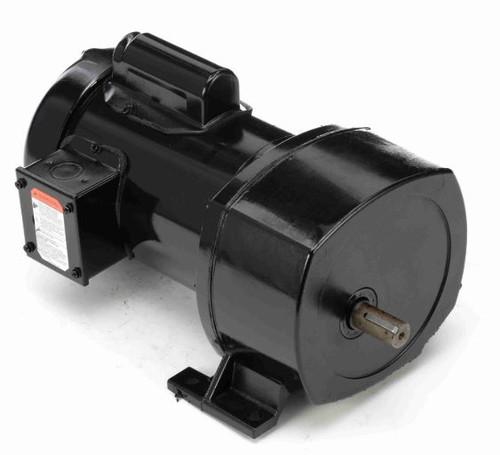 Leeson Parallel Shaft 1/3 hp, 157 RPM 115/208-230 Electric Gear Motor # 107008