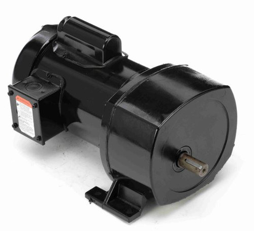 Leeson Parallel Shaft 1/2 hp, 59 RPM 115/208-230 Electric Gear Motor # 107016