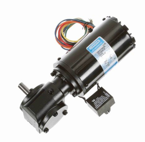 M1125080.00 Leeson |   Right Angle 1/15 hp, 28 RPM TENV 115/230V Electric Gear Motor