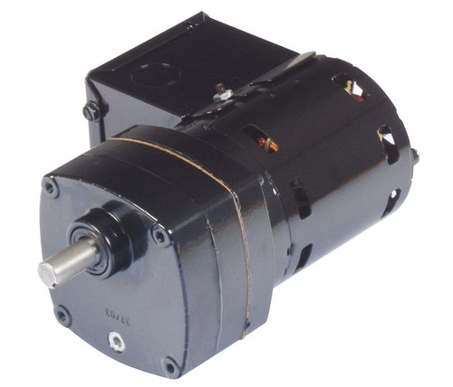 Bison 016-102-0186 Gear Motor 1/80 hp 8.8 RPM 115V 60/50HZ.