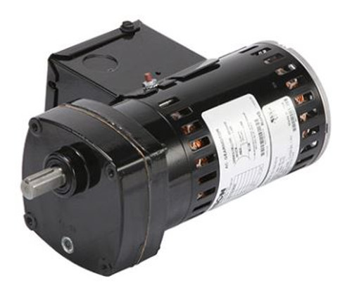 Bison 016-175-0013 Gear Motor 1/10 hp, 124 RPM 115V 60/50HZ.