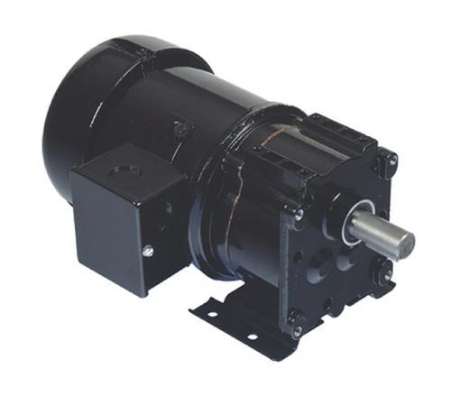 Bison 016-246-4005 Gear Motor 1/4 hp 338 RPM 115/230V 60/50 HZ.