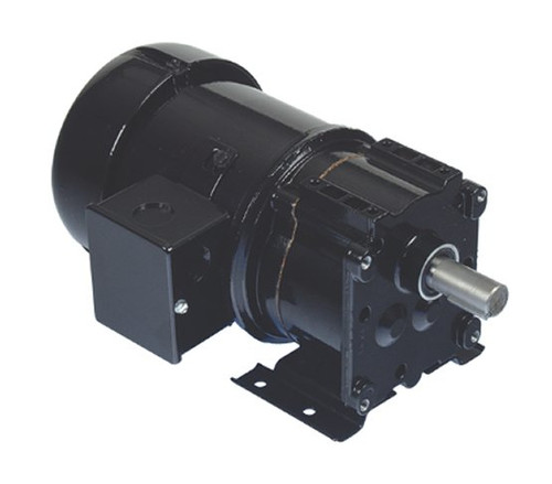 Bison 017-247-0028 Inverter Duty Gear Motor 1/4 hp 62 RPM 230V