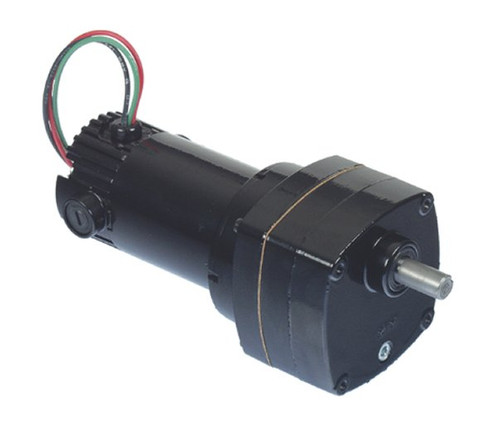 Bison 011-175-0072 Gear Motor 1/20 hp 25 RPM 90/130VDC