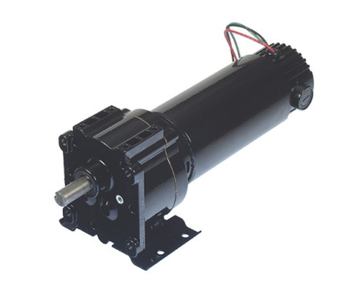 Bison 011-348-4030 Gear Motor 1/4 hp 64 RPM 90VDC