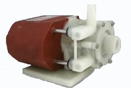 """March Pump LC-2CP-MD-230V; 3/8"""" FPT Inlet/ 1/4"""" MPT Outlet"""