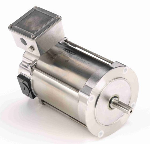 109078.00 Leeson |  1/4 hp 1750 RPM 56C No Base 90 VDC TENV  Stainless Steel