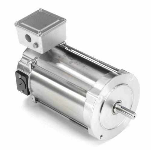 109079.00 Leeson |  1/3 hp 1750 RPM 56C No Base 90 VDC TENV  Stainless Steel