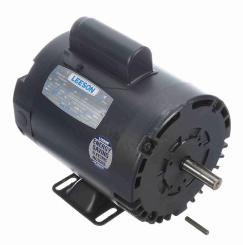 110394.00 Leeson |  1/3 hp 1425 RPM 56 Frame ODP Rigid Base 110/220V 50 hz.