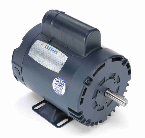 110395.00 Leeson |  1/2 hp 1425 RPM 56 Frame ODP Rigid Base 110/220V 50 hz.