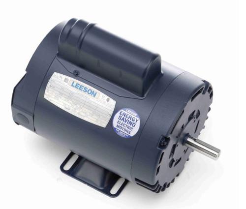 113902.00 Leeson |  3/4 hp 2850 RPM 56Frame ODP Rigid Base 110/220V 50 hz.