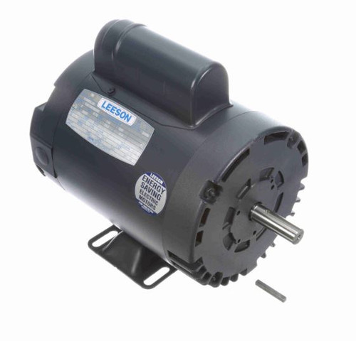 113903.00 Leeson |  1 hp 2850 RPM 56 Frame ODP Rigid Base 110/220V 50 hz.