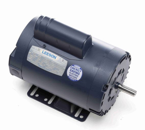 110397.00 Leeson |  1 hp 1425 RPM 56H Frame ODP Rigid Base 110/220V 50 hz.