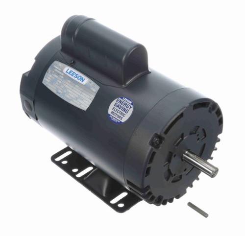 2 hp 2850 RPM 56H Frame ODP Rigid Base 110/220V 50 hz. Leeson # 113905