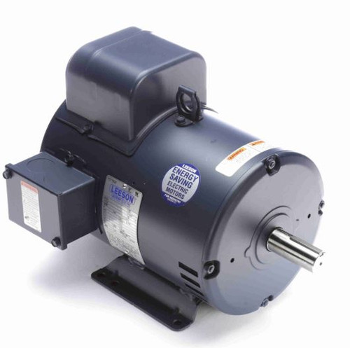131555.00 Leeson |  5 hp 1440 RPM 184T Frame ODP Rigid Base 220V 50 hz.