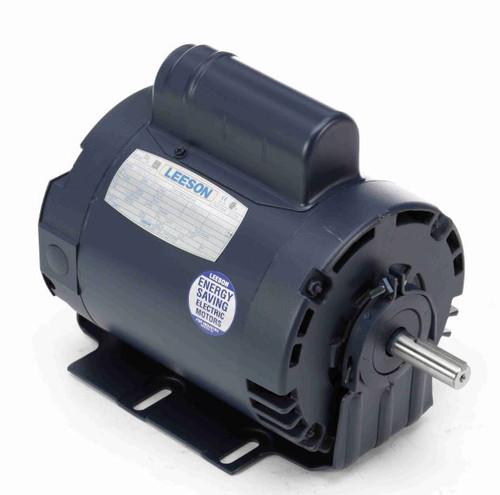 114226.00 Leeson |  3/4 hp 2850 RPM 56 Frame ODP 110/220V 50hz.Resilient Base