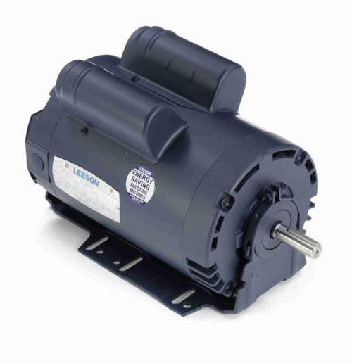 114231.00 Leeson |  1 1/2 hp 1425 RPM 56H Frame ODP 110/220V 50hz.Resilient Base