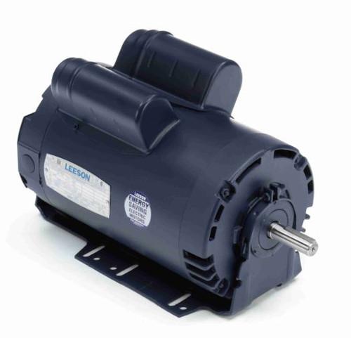 114233.00 Leeson |  2 hp 1440 RPM 56H Frame ODP 220V 50hz.Resilient Base