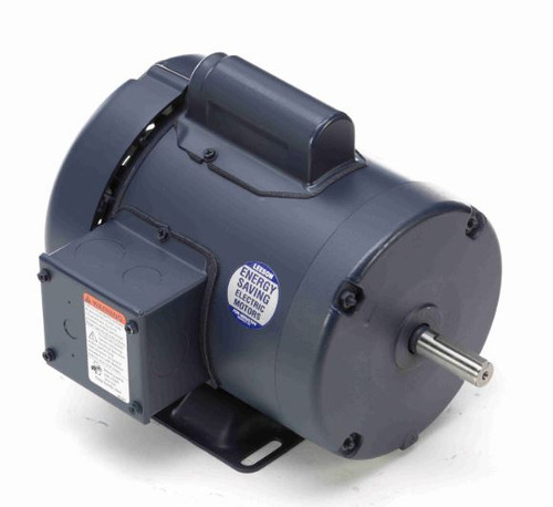 110423.00 Leeson |  1/3 hp 1425 RPM 56 Frame TEFC Rigid Base 110/220V 50hz.