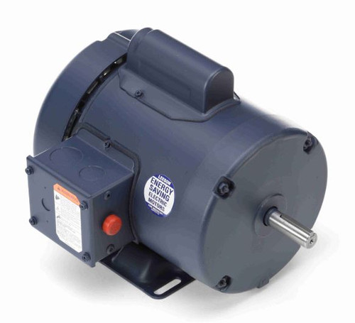 113908.00 Leeson |  1/3 hp 1425 RPM 56 Frame TEFC Rigid Base 110/220V 50hz.