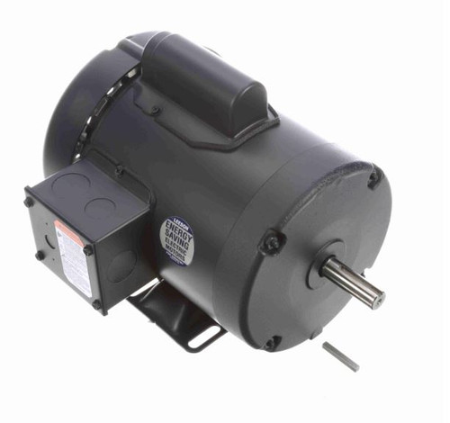 113917.00 Leeson |  1/2 hp 2850 RPM 56 Frame TEFC Rigid Base 110/220V 50hz.