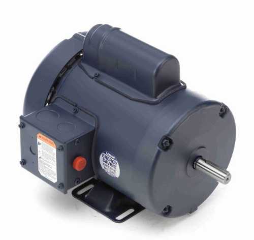 113909.00 Leeson |  1/2 hp 1425 RPM 56 Frame TEFC Rigid Base 110/220V 50hz.