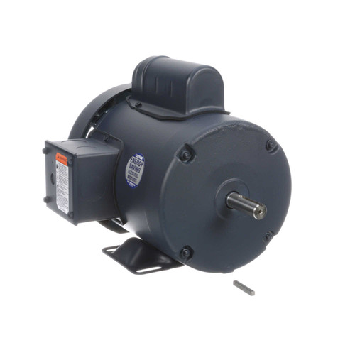 113918.00 Leeson |  3/4 hp 2850 RPM 56 Frame TEFC Rigid Base 110/220V 50hz.