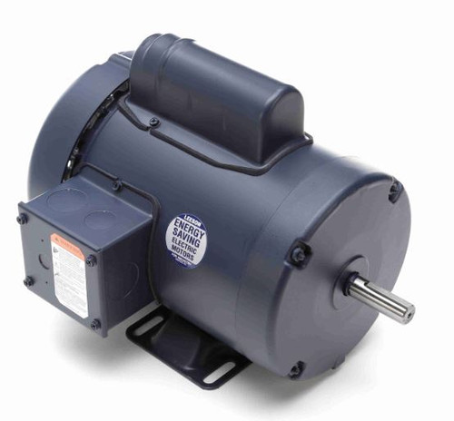 110065.00 Leeson |  3/4 hp 1425 RPM 56 Frame TEFC Rigid Base 110/220V 50hz.
