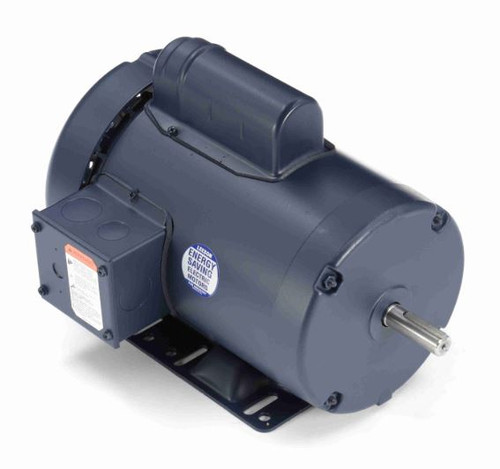 110066.00 Leeson |  1 hp 1425 RPM 56H Frame TEFC Rigid Base 110/220V 50hz.