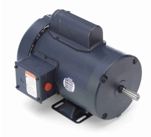 113911.00 Leeson |  1 hp 1425 RPM 56 Frame TEFC Rigid Base 110/220V 50hz.