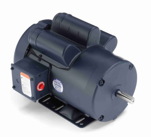 113929.00 Leeson |  1.5 hp 1425 RPM 56H Frame TEFC Rigid Base 110/220V 50hz.