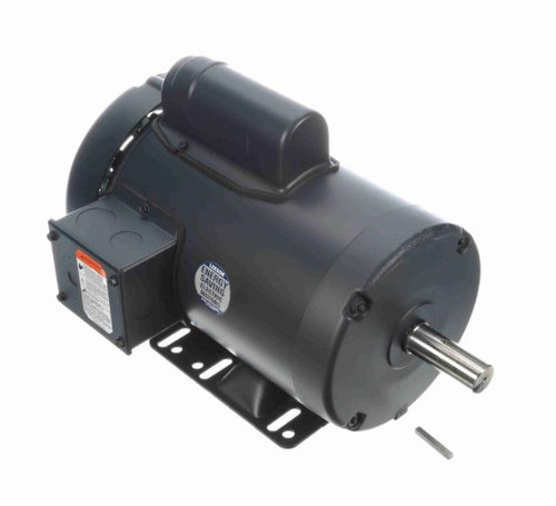 113928.00 Leeson |  2 hp 2850 RPM 56HZ Frame TEFC Rigid Base 110/220V 50hz.