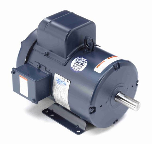 131557.00 Leeson |  3 hp 1440 RPM 184T Frame TEFC Rigid Base 220V 50hz.
