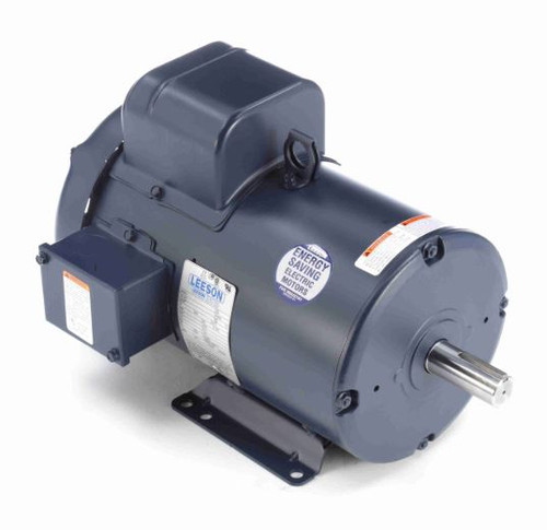 5 hp 2850 RPM 184T Frame TEFC Rigid Base 220V 50hz. Leeson # 131638