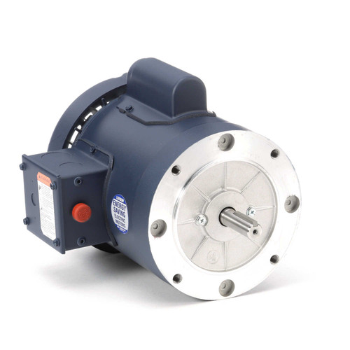 113921.00 Leeson |  1/3 hp 1425 RPM 56C Frame TEFC No Base 110/220V 50hz.