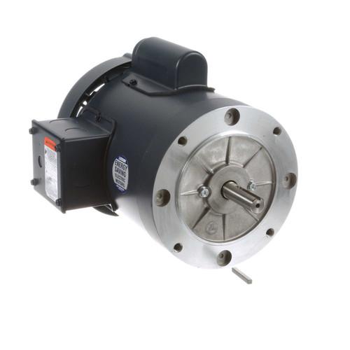 1/2 hp 2850 RPM 56C Frame TEFC No Base 110/220V 50hz. Leeson # 113912