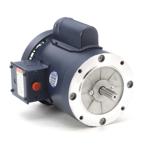 113922.00 Leeson |  1/2 hp 1425 RPM 56C Frame TEFC No Base 110/220V 50hz.