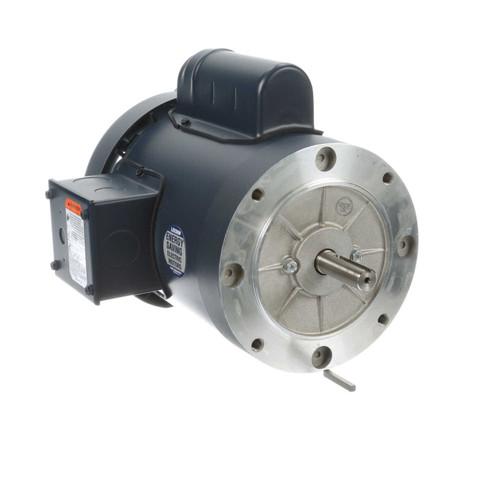 3/4 hp 2850 RPM 56C Frame TEFC No Base 110/220V 50hz. Leeson # 113913