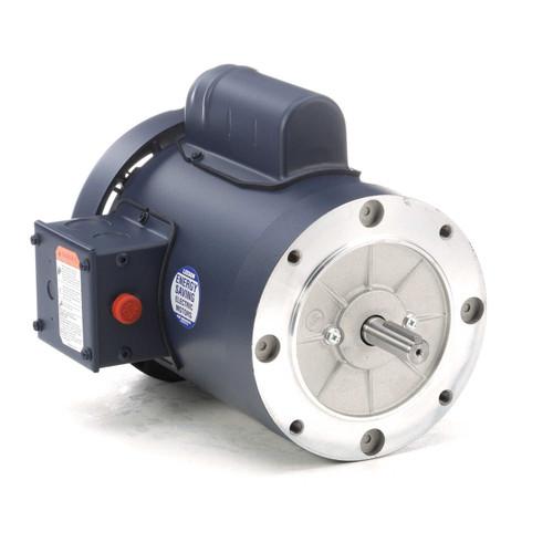3/4 hp 1425 RPM 56C Frame TEFC No Base 110/220V 50hz. Leeson # 113923