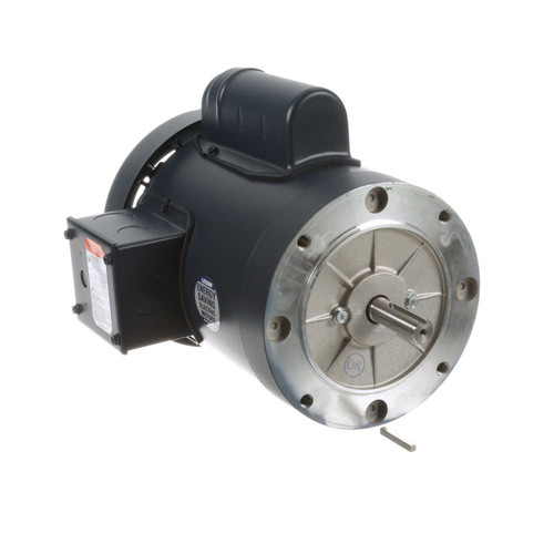 113914.00 Leeson |  1 hp 2850 RPM 56C Frame TEFC No Base 110/220V 50hz.